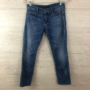 Mother The Looker Crop Jeans Size 28